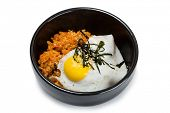 picture of kimchi  - Fried rice with kimchi and pork - JPG