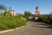 Curchi monastery complex in Moldova