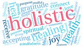 pic of holistic  - Holistic word cloud on a white background - JPG