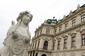 stock photo of palace  - The Belvedere is a historic building complex in Vienna Austria consisting of two Baroque palaces  - JPG