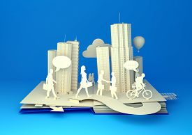 picture of pop up book  - Pop - JPG