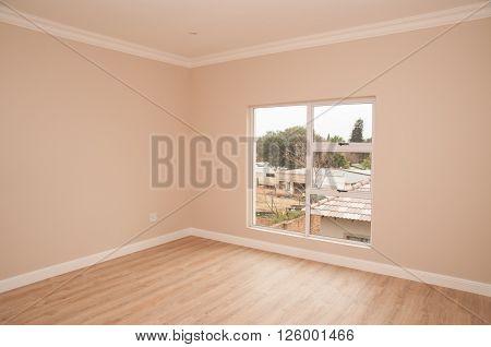 Open Bedroom Of New House