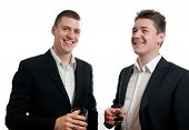 Young Businessmen Whisky