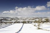Chelmorton In Snow