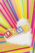Liefde stro hart