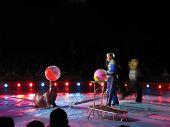 Moira Orfei Circus seal tamer