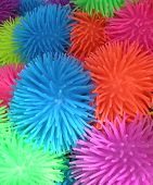 Spikey Rubber Balls