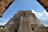 Pyramid of the Magician - Uxmal