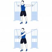 Fitness Exercises For Chest poster