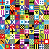 Seamless Pattern. Print Jockey Uniform. Traditional Design.clothes, Uniforms, Jacket. Horse Riding.  poster