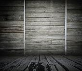 old wooden interior, vintage background