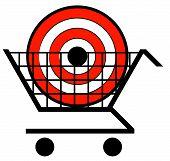 Shopping Cart W Target