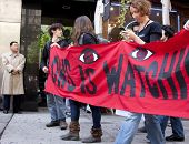 NEW YORK - MAY 1: Protesters march to Union Square from Bryant Park during Occupy Wall St 'May Day'