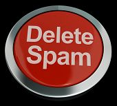 Delete Spam Button For Removing Unwanted Email