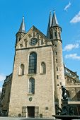 picture of bonnes  - Minster one of the oldest churches in Germany emblem of the City of Bonn - JPG