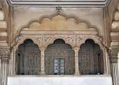 Emperor's Balcony and Location of the Peacock Throne, Diwan-e-Am