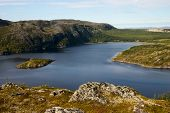 Wild Fiord In North Norway