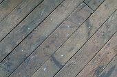 Vintage Industral Wood Floor