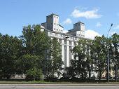 Elevator and Mill bakery plant them. S.M. Kirov. St. Petersburg