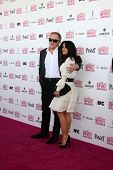 LOS ANGELES - FEB 23:  Francois-Henri Pinault, Salma Hayek attend the 2013 Film Independent Spirit A