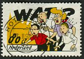 NETHERLANDS - CIRCA 1997: Postage stamp printed in Netherlands dedicated to