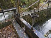 Detalle de zanja de riego