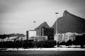 Cristo Redentor As Seen From A Boat In The Baia De Guanabara