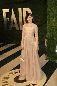 WEST HOLLYWOOD, CA - FEB 24: Zooey Deschanel at the Vanity Fair Oscar Party at Sunset Tower on Febru