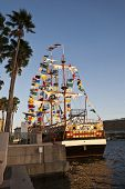 TAMPA, FLORIDA - JANUARY 31: Over 1 million people attend at least one Gasparilla Pirate Fest event