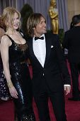 LOS ANGELES, CA - FEB 24: Nicole Kidman, Keith Urban at the 85th Annual Academy Awards on February 24, 2013 in Los Angeles, California