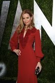 WEST HOLLYWOOD, CA - FEB 24: Leslie Mann at the Vanity Fair Oscar Party at Sunset Tower on February