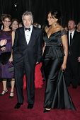 LOS ANGELES - FEB 24:  Robert DeNiro, Grace Hightower arrive at the 85th Academy Awards presenting t
