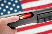 American Loading Shotgun