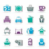 pic of piccolo  - Hotel and motel services icons  - JPG