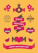 Mother's Day Design Elements