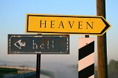 heaven vs. hell