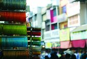 picture of charminar  - Bangles for Sale at the Laad Bazaar - JPG