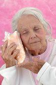 Great Grandmother Listening