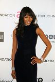 LOS ANGELES - FEB 24:  Naomi Campbell arrives at the Elton John Aids Foundation 21st Academy Awards