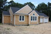 picture of loam  - Newly completed Residential housing without before landscaping - JPG