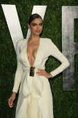WEST HOLLYWOOD, CA - FEB 24: Irina Shayk at the Vanity Fair Oscar Party at Sunset Tower on February 24, 2013 in West Hollywood, California