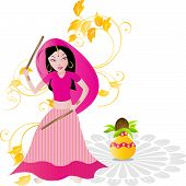 Dandiya Garba Dance