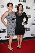LOS ANGELES - OCT 19:  Christine Fry, Finola Hughes at the