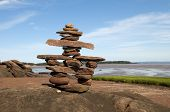Welcoming  Inukshuk