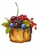 Berry Cake