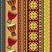 African drum design