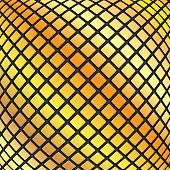 Abstract Geometric Background.design Of Yellow Rectangles.mosaic Pattern.vector
