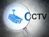 picture of cctv  - Security concept - JPG