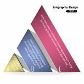 colorful infographics options banner