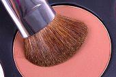 Professional Make-up Brush On Corrector Palette